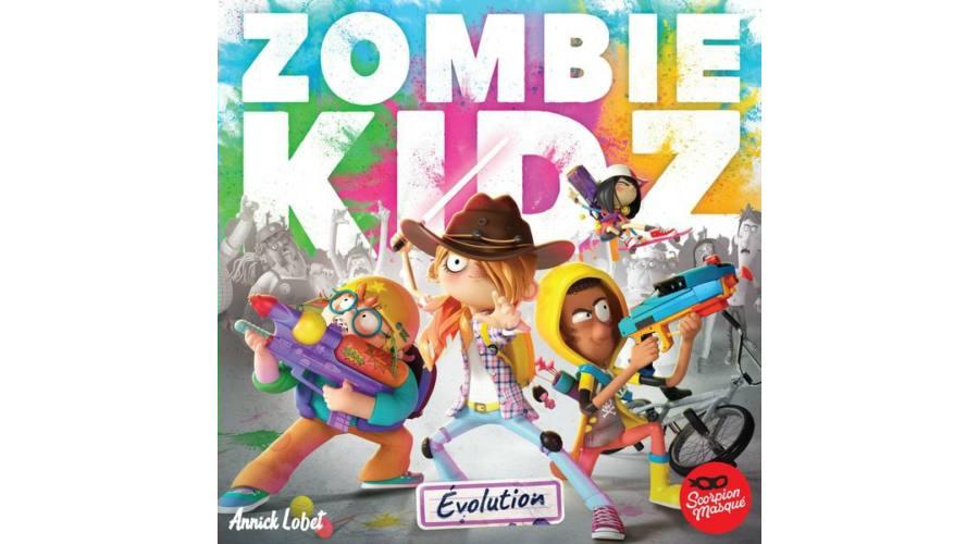 zombie kidz társasjáték borító